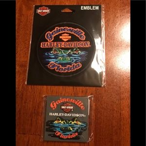 Brand New Harley Davidson Patch and Magnet